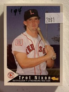 94 Baseball Classic Lynchburg Red Sox Team Set Class A Boston Red Sox Affiliate