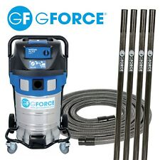 Gutter Vacuum  with 4 Carbon Fibre Poles and Accessories professional system