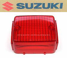 New Suzuki Tail Light Brake Lamp Lens 90-16 DR250 S DR350 S DR650 SE  OEM#J40