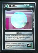 Star Trek CCG Edo Probe 1E Tournament Foil Promo