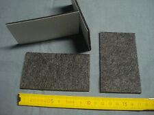 3 patins meuble siège adhésifs feutre 60 mm par 40 mm (réfA5)