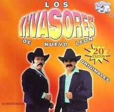 Invasores De Nuevo Leon : 20 Exitos CD