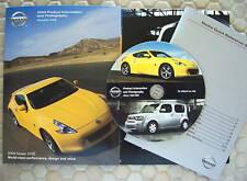 NISSAN 370 Z PRESS KIT CD SALES BROCHURE ALL MODELS 2009 USA EDITION