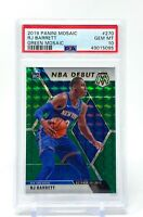 RJ Barrett 2019-20 Panini Mosaic Green NBA Debut Rookie PSA 10 #270 RC Knicks