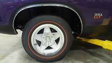 FORD FALCON XA XB 2 DOOR COUPE WHEEL ARCH MOULD SET WITH SCREWS RPO GT GS 351 V8