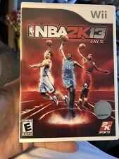 NBA 2K13 - Nintendo  Wii Game. (Complete)
