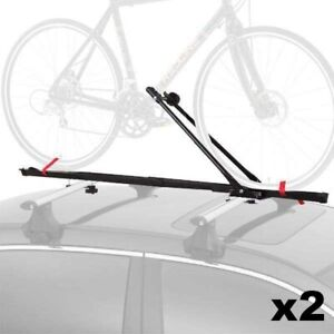1 Bike Car Roof Carrier Rack Bicycle Racks  with Lock Pack of 2