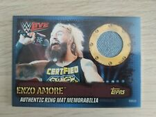 Topps WWE Slam Attax 10th Edition RMGB ENZO AMORE Ring Mat Relic
