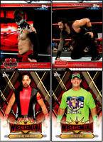 2019 Topps WWE The Road To Wrestlemania Complete Set + Roster Inserts 150 Cards
