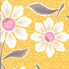 Half Metre Quilting Fabric ~ Riley Blake Daisy Cottage ~ Large Floral ~ Yellow