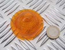 Bullet Blinkerkappe Blinkerglas  gelb,Stück Ersatzkappe   mit E-Zeichen