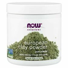 Now Foods European Clay Powder Facial Cleanser & Detox - 6 oz SKIN TONING MASK