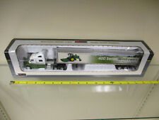 John Deere Windrowers Peterbilt Semi with Trailer by SpecCast 1/64th Scale  !