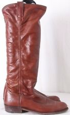 Frye Dorado Knee High Soft Slouch Plain Round Toe Riding Boots Women's US 8.5