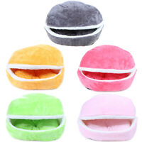 Warm Cat Bed Dog House Hamburger bed Windproof Pet Mat Nest Shell Burger  zq md