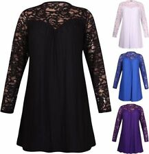 Lace Long Sleeve Machine Washable Casual Tops & Blouses for Women