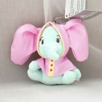 Dumbo  raincoat stuffed plush doll key chain ornament keyring bag pendant