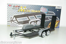 MOTOR MAX AUTO AMBULANCE CAR TRAILER CARRIER ANHANGER MINTBOXED RARE SELTEN RARO