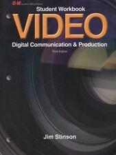 Video: Digital Communication & Production, Stinson, Jim, 1605258199, Book, Good