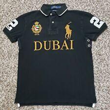Polo Ralph Lauren Dubai Big Pony Custom Slim Fit Rugby Polo Shirt Mens Size S