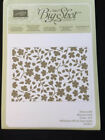 Stampin' Up SPRING FLOWERS Textured Impressions Embossing Folder