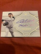 Andy Pettitte Topps Definitive auto 18/25 sweet inscription