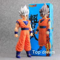 17'' Anime Dragon Ball Z DBZ God Super Saiyan Son Goku Gokou Collect Figure Toys