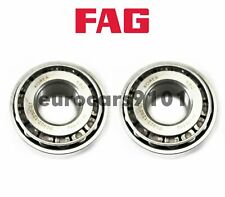 Mercedes-Benz 350SD FAG (2) Front Outer Wheel Bearings SET3 KM12649.M12610