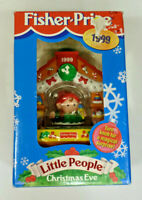 Fisher Price Little People Christmas Eve Ornament - #72746 - EUC - 1999
