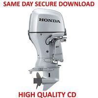 Honda BF175A BF200A BF225A Outboard Motor Service Manual  (175-225) PDF on  CD
