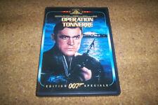 DVD james bond 007 OPERATION TONNERRE  + LES LIVRETS INCLUS PHOTOS COULEURS