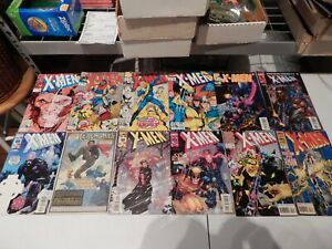 Marvel X-MEN 1991 Series LOT OF 12 #7 8 10 11 105 107 108 109 110 112 Annual 2 3