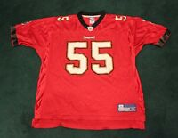 Vintage Tampa Bay Buccaneers #55 Brooks Reebok NFL Jersey Adult XL