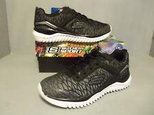 9a1f99907f14 Skechers Kids Boys  Turboshift Sneaker Black silver 4.5 Medium US Big Kid