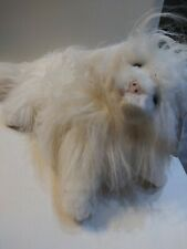 Plush Creations Plush Sheba Cat W Claws Vtg 1992 Stuffed Animal Long Hair 20""