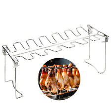 Barbecue Grill Stove Kebab Stainless Steel Bbq Patio Drumsticks Camping Folding