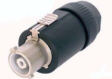 (One) Genuine Neutrik NAC3FC-HC powerCON 32 Amp Cable Line Power Connector Plug