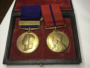 Victorian 1887 Police Medals