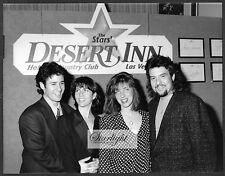Robert Pastorelli Robb Morrow ORIGINAL 1980s Photo Desert Inn Las Vegas