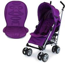 SALE!!! New Zeta Vooom Plum + Luxury Stroller Padded Liner