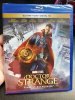 Doctor Strange (Blu-ray/DVD, 2017, 2-Disc Set, Includes Digital Copy) Brand New