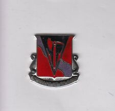 US Army 464th Engineer Battalion DUI crest c/b clutchback badge G-23