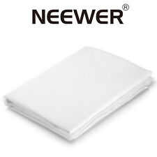 Neewer 2 Yard x 60 Inch 1.8 x 1.5m Nylon Silk White Seamless Diffusion Fabric