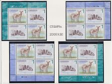 CANADA PLATE BLOCKS 1688-1689MNH $1.00 x 16 WHITE-TAILED DEER & ATLANTIC WALRUS