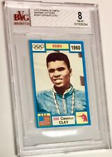 1971 OLYMPIA CASSIUS CLAY *HOF* BVG 8 **RARE** BROWN LETTER *VARIATION* BGS PSA