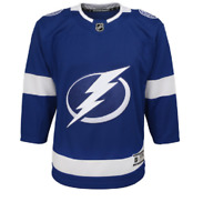 NHL Tampa Bay Lightning Home Hockey Jersey New Youth Sizes MSRP $80