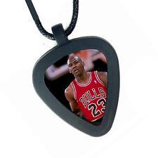 Michael Jordan Chicago Bulls Pickbandz Mens or Womens Real Guitar Pick Necklace