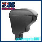 AU Black Leather Armrest Center Console Storage Box Fit 2007-2012 Suzuki SX4 GG