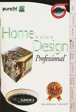 Punch HOME & LANDSCAPE DESIGN w/ NexGen Technology - for Windows XP/Vista/7 NEW