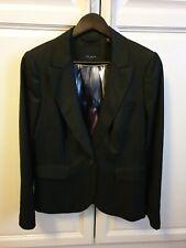 Ted Baker Ladies Black Smart 1 Button Blazer/Jacket Size 14 (4)
